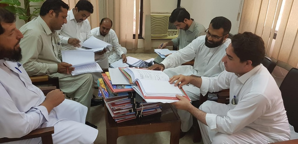 Handover Takeover between the administration of UET Mardan & UET Peshawar